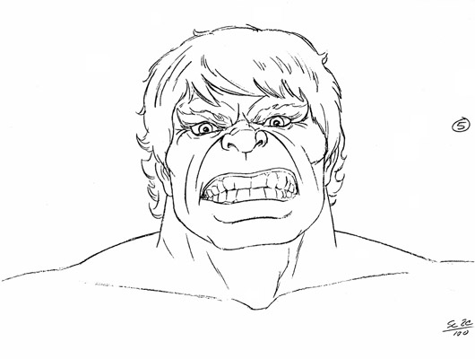 Hulk Face Line Drawing : Cbr community